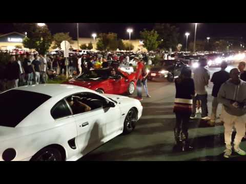 Stockton car show fool got jumped
