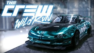 MAZDA RX-7 │ The Crew WILD RUN │ Customization (1080p 60fps)