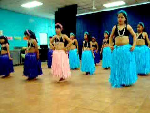 Hawaiano Lilo and Stich Exibisión Escuela