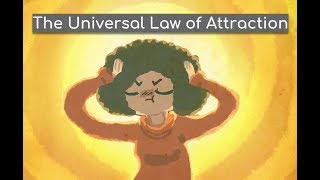Universal Law ofAttraction | The secret animated book summary | Power of positive thinking