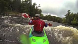 Indiana James McBeath runs Ottawa River in Zen