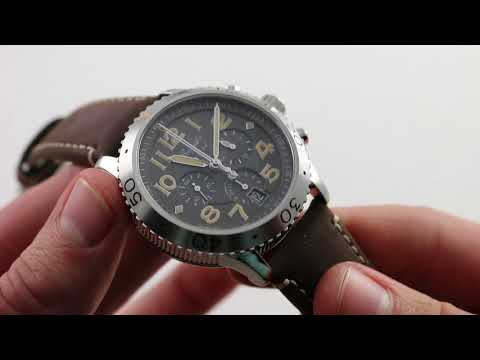 Xxx Mp4 Pre Owned Breguet Type XXI Flyback 3817ST X2 3ZU Luxury Watch Review 3gp Sex