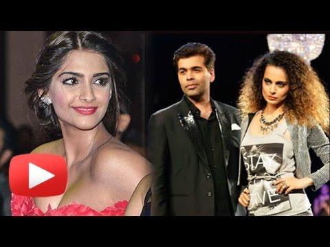Sonam Kapoor On Nepotism, Supports Karan Johar   Kangana Ranaut Karan Johar Controversy
