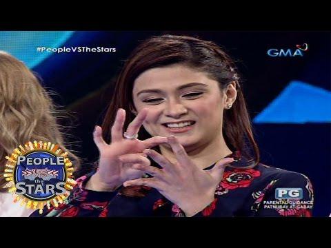People vs the Stars: Carla Abellana, hindi maiisahan ng tricky questions!