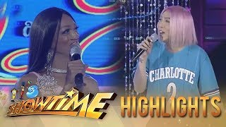 It's Showtime Miss Q & A:  Vice Ganda is happy about the love life of the candidate