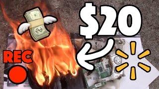Bored Smashing - $20 WALMART CAMCORDER