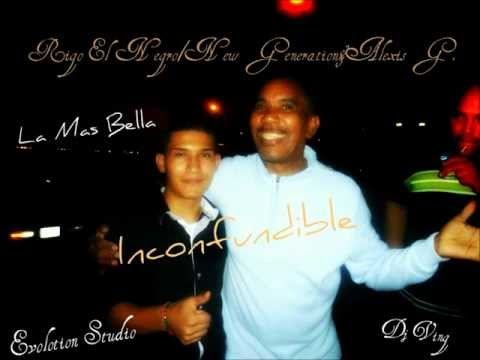 Rigo El Negro Con La New Generation Y Alexis G. Tema La Mas Bella Promocional 2012.