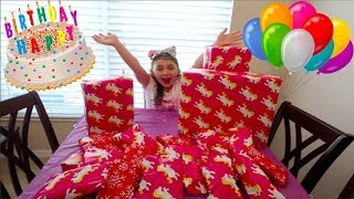 ALAYAH'S 8th BIRTHDAY MORNING OPENING PRESENTS!🦄