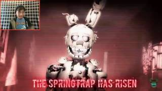 FNAF I'm The Purple Guy Song Reaction / ITS ME