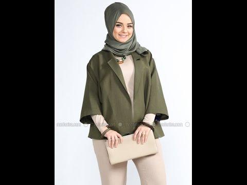 Alia 2016 Büyük Beden Tesettür Giyim Modelleri