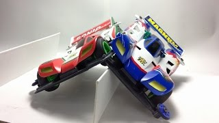 【Mini4WD】Run Mini4WD the last scene of Let's & Go episode 1