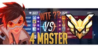 Surefour - DIAMOND vs MASTER !! Again!?  - Overwatch Highlights #70