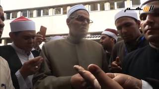خطباء المكافأة يرفضون رد وزارة الاوقاف لفض تظاهرهم
