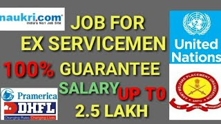 Ex Army jobs# Jobs for retired armymen# Jobs for ex servicemen# ex servicemen job vacancy#