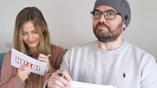 The Saccone-Joly's - couple's quiz!