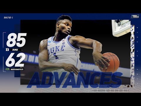 Watch Duke Zion Williamson advance past NDSU Extended highlights
