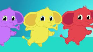 Um elefante se Balançava com A Pequena Sereia -  musica infantil com Os Amiguinhos