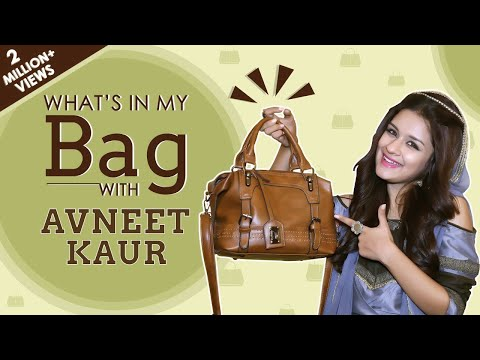 Xxx Mp4 What's In My Bag With Avneet Kaur Bag Secrets Revealed Exclusive 3gp Sex
