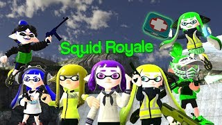 [Splatoon GMOD] Squid Royale