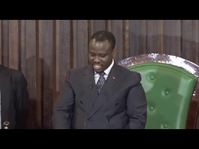Réélection de Guillaume K Sory au perchoir ivoirien