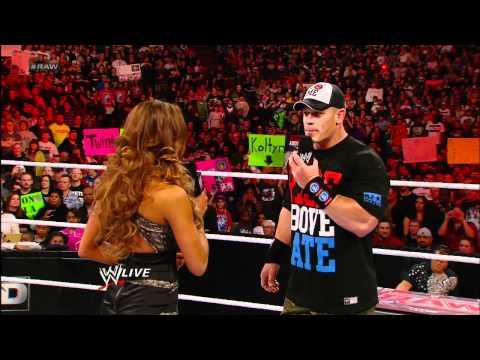 Raw Eve begs for forgiveness from John Cena