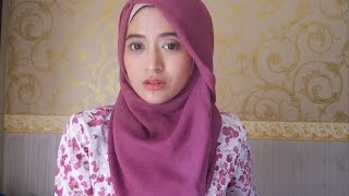 #60 Hijab Tutorial - Natasha Farani - Paris (Segi Empat)