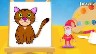 Jak narysować kotka? Rysuj z Tadziem I Lulek.tv