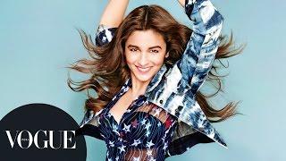 Alia Bhatt is Miss Vogue | Photoshoot Behind-the-Scenes | VOGUE India