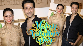 Shilpa Saklani and Apurva Agnihotri At Valentine's Collection Launch by Bhumika & Jyoti