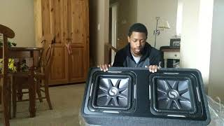 Home Theater Junkie Takes It Mobile. New Kicker Solo-Baric L7 Subwoofers!
