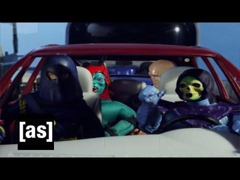 Villain Car Pool Robot Chicken Adult Swim