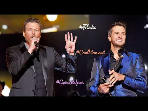 Luke Bryan shares his cool moment with Blake Shelton and Gwen Stefani [March, 2018]