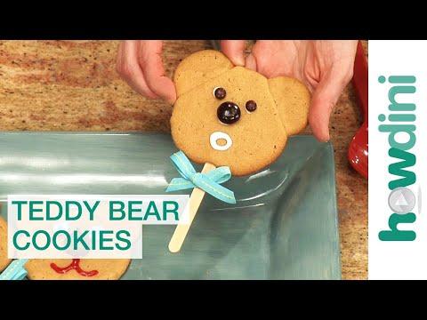 How to make cookies Teddy bear cookies