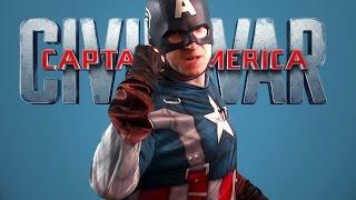 IRON MAN VS CAPTAIN AMERICA