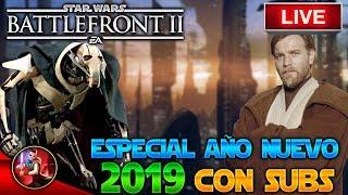 BATTLEFRONT 2 DIRECTO - ESPECIAL 2019- PS4 - JUGANDO CON SUBS - ByOscar94