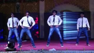 Govinda Mix Songs Bollywood Dance Choreography | 4 Boys Dance Performance |