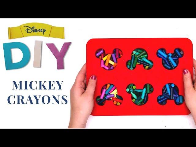 Mickey Crayons | Disney DIY