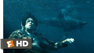 Unbroken (4/10) Movie CLIP - Bullets Above, Sharks Below (2014) HD
