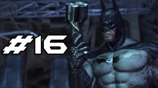 BATMAN Arkham Asylum Gameplay Walkthrough - Part 16 - New Tools (Let's Play)