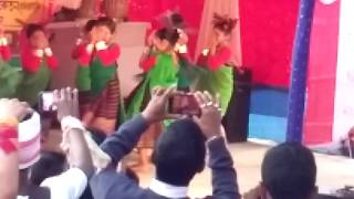 Group dance in hit assamese  song