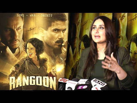 Rangoon Movie REVIEW By Kareena Kapoor Starring Ex Bf Shahid & Saif Ali Khan Will Blow Your Mind