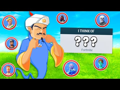 Xxx Mp4 Can The Akinator Guess ALL The Fortnite Skins 3gp Sex