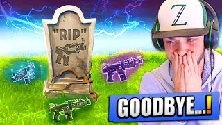 """Saying """"GOODBYE"""" to one of the BEST GUNS in Fortnite..."""