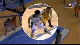 Teng vs Teng Elbow Each Other UST vs DLSU Finals UAAP