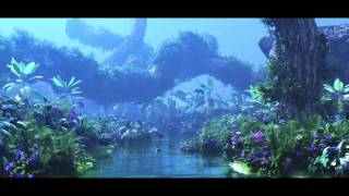 Avatar fan film Pandora environment test -forest, floating mountain (3D Studio Max - Vue Xstream)