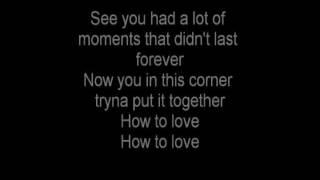 How To Love by Lil Wayne Lyrics