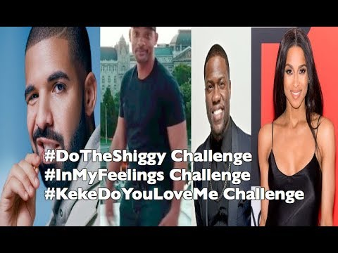 Drake, Will Smith, Kevin Hart And More Perform The #InMyFeelings #DoTheShiggy Challenge