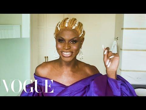 RuPaul's Drag Race Star Symone's Guide to Regal Runway Ready Makeup Beauty Secrets Vogue
