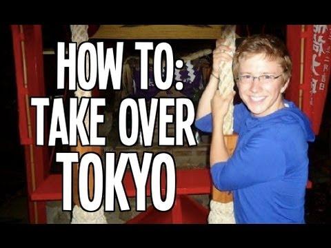 Tyler Oakley Takes Tokyo