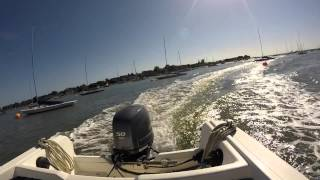 my boat trip ~ itchenor to bosham